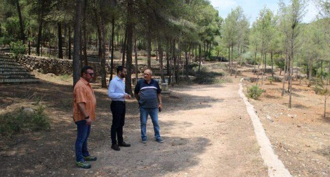 L'Alcora obri la zona d'acampada i la de paellers del paratge de Sant Vicent