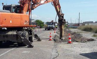 El Gobierno invierte más de 935.000€ en la reparación de las carreteras de Vinaròs