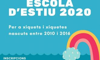Servicios Sociales y Deportes de Benicarló unifican la oferta de verano para niños y niñas de 3 a 16 años