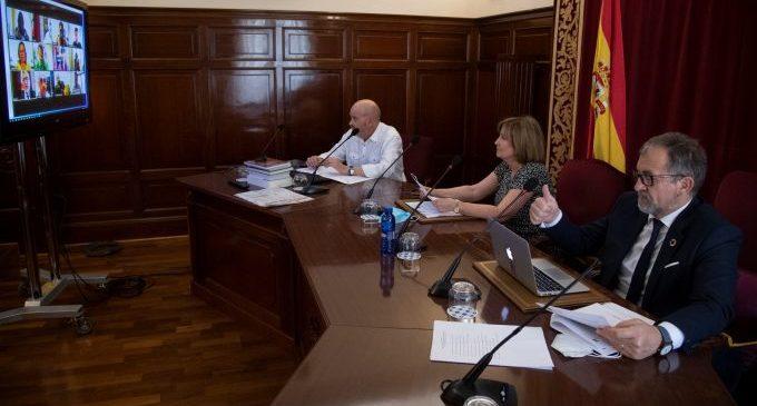 El ple de la Diputació aprovarà el Pla Reactiva Castelló amb el suport de tots els partits