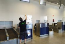 L'aeroport de Castelló implanta noves mesures de seguretat sanitària enfront de la COVID-19