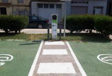 Borriana ja disposa del primer punt de recàrrega municipal de vehicles elèctrics en via urbana