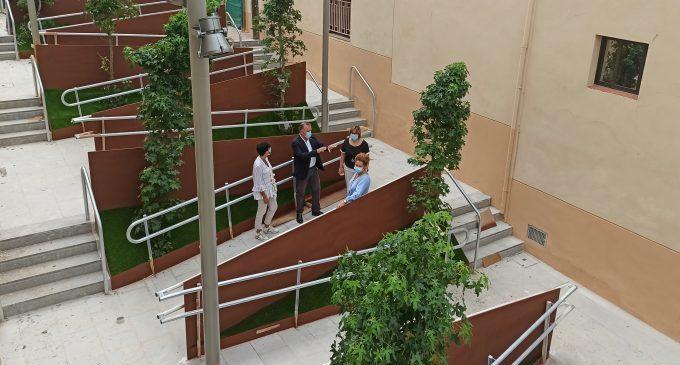Benicàssim conclou les obres del carrer Encarnación Marzá