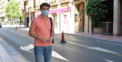 Castelló amplia la xarxa ciclable de la ciutat amb un nou carril bici al carrer Herrero