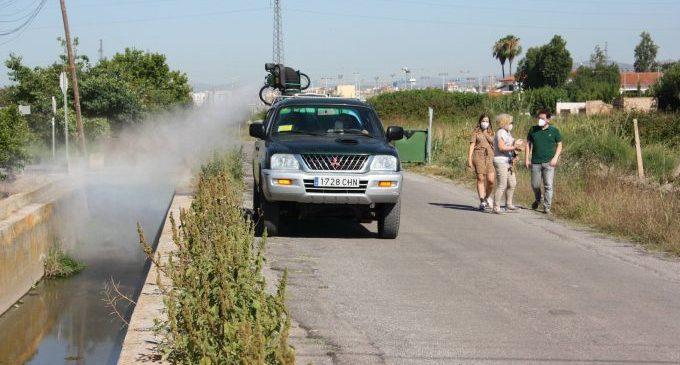 Arranca una campanya extraordinària de fumigacions antimosquits a Castelló