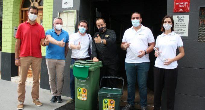 Más de 100 locales de Castelló participan en el plan de Ecovidrio para incrementar el reciclaje en verano