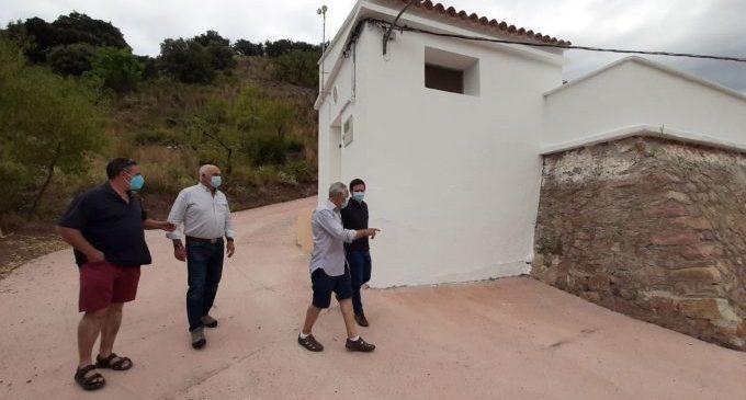 La Diputació repara el depòsit d'Almedíjar amb els fons de garantia d'abastiment d'aigua potable
