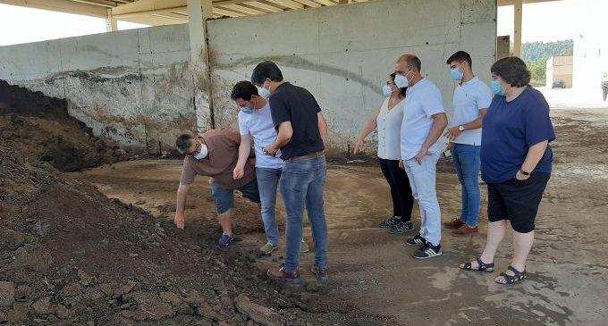 La Diputació valora realitzar noves inversions en la planta de tractament de purins de Todolella