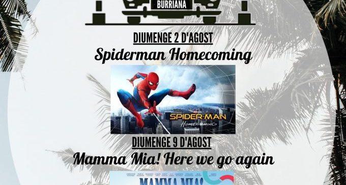 Nuevo cartel para el autocine de agosto en Burriana