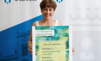L'Ajuntament de la Vall d'Uixó presenta les V Jornades Educatives