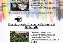 Burriana continúa ofreciendo actividades infantiles en Agosto