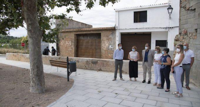 José Martí destaca la renovació urbana i les millores d'accessibilitat de Borriol, Cabanes i Orpesa gràcies a les inversions del Pla 135