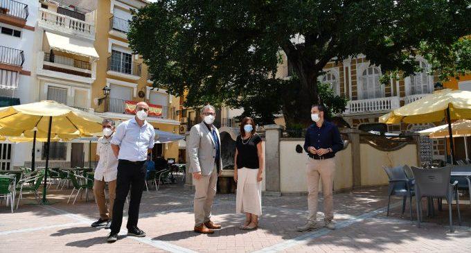 José Martí visita les obres que s'executen a Navajas, Matet i Gaibiel per valor de 165.000 euros