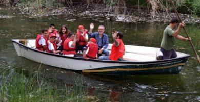 Visites al Clot de la Mare de Déu de Borriana, primer paratge natural de la Comunitat Valenciana