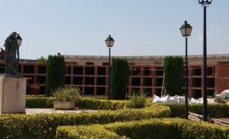 Nules construye 168 nuevos nichos en el cementerio municipal