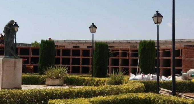 Nules construeix 168 nous nínxols al cementeri municipal
