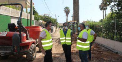 L'Ajuntament i Facsa milloren els subministraments públics de la zona marítima de Borriana