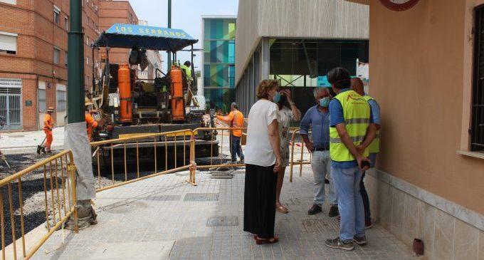 Les obres del nou bulevard del barri la Bosca a Borriana encaren la recta final