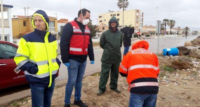 Abel Ibáñez ensalza la gran labor social de los bomberos y los voluntarios de Protección Civil en este primer año de la Nueva Diputación