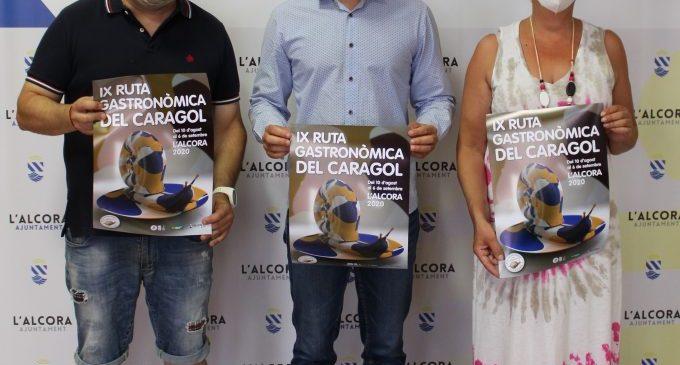 l'Alcora presenta la IX Ruta Gastronòmica del Caragol