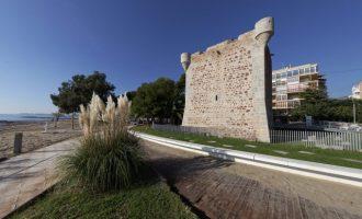 La Torre de Sant Vicent de Benicàssim reobri al públic després de quasi quatre mesos sense activitat