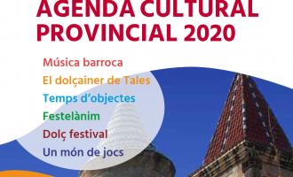 Música, teatre i jocs integren una Agenda Cultural 2020 de la Diputació que traslladarà mig centenar d'esdeveniments a les huit comarques de la provincia