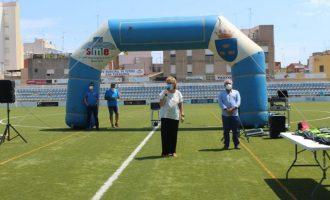 130 xiquets i xiquetes de Borriana han participat en el primer torn de Campus Multiesportiu Saludable d'Estiu