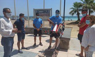 Les platges de Benicàssim inicien el mes de juliol amb la seua excel·lència certificada i amb més seguretat