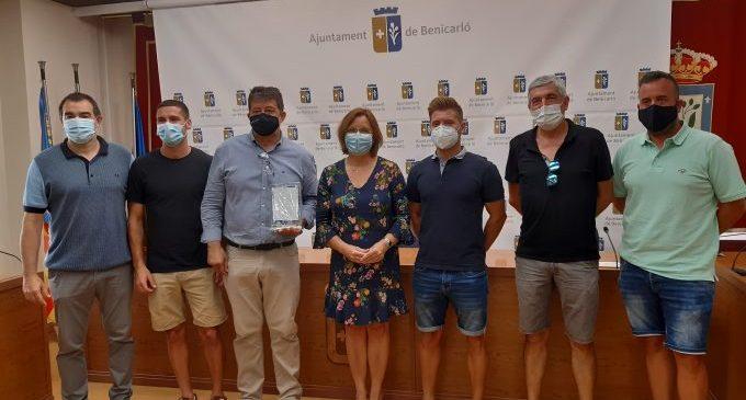 L'Ajuntament reconeix l'èxit del CD Benicarló per l'ascens a Tercera Divisió