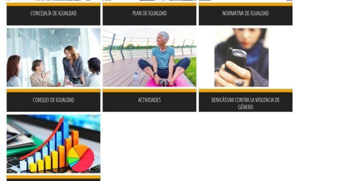 Benicàssim renova la secció d'Igualtat en la web municipal