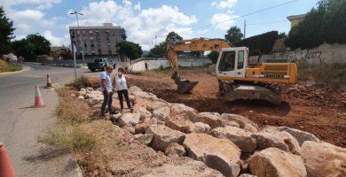 Benicàssim millora la seguretat en el Barranc de Farja