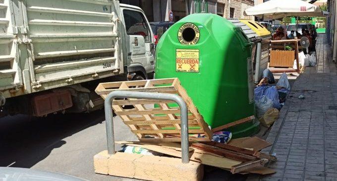 Medi Ambient posa en marxa una campanya per a frenar l'abandonament de residus a Benicarló