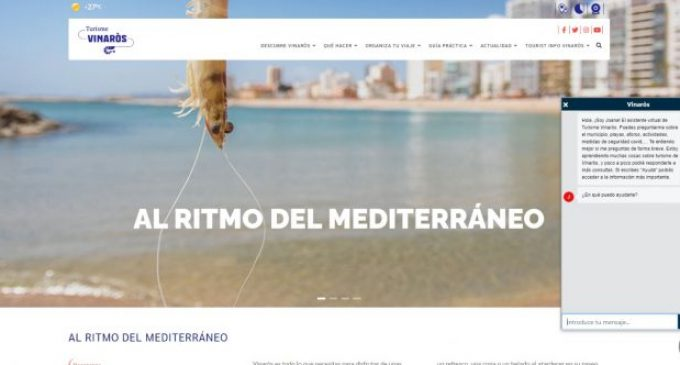 Turismo Vinaròs habilita un chatbot para informar a los visitantes