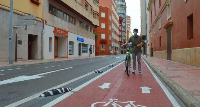 El nou carril bici d'Herrero de Castelló ja està operatiu