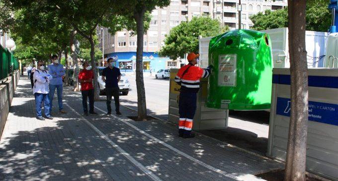 El reciclatge urbà de Castelló creix un 14 % en 2020