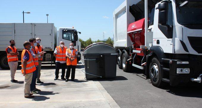 Castelló reforça les rutes de recollida de residus amb vehicles ecològics