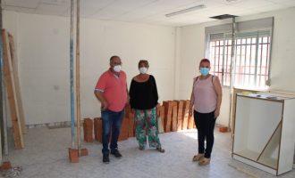 El Ayuntamiento de l'Alcora invierte 60.000 € en mejoras en el CEIP Comte d'Aranda