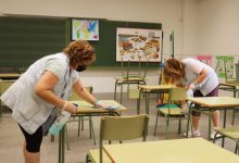 Onda reforça la neteja i desinfecció dels col·legis de cara a l'inici del nou curs escolar