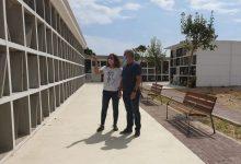 Finalitzen les obres d'ampliació del cementeri municipal de Vinaròs