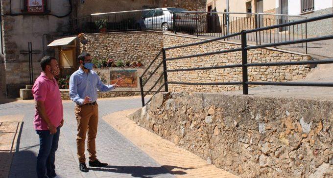 L'Ajuntament de l'Alcora millorarà el mur situat a l'entrada de la Foia