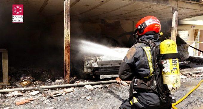 S'incendia un hotel a Benicàssim