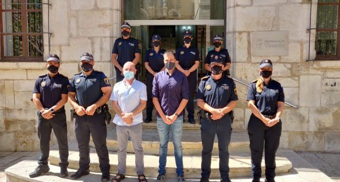 La Policia Local incorpora set nou agents de carrera a Vinaròs