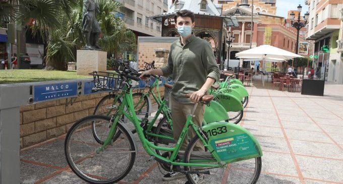 Bicicas recupera al juliol el nivell habitual de préstecs i redueix un 90% el vandalisme
