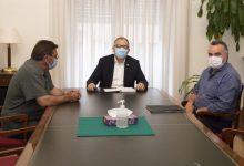 José Martí analitza amb l'alcalde de Torralba del Pinar les infraestructures del municipi de l'Alt Millars