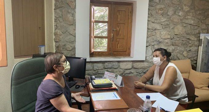 Patricia Puerta anuncia que la Diputació finançarà el servei de promoció de l'autonomia personal de Torás