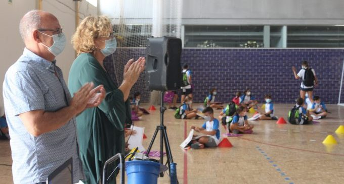220 xiquets i xiquetes de Borriana han participat en el VII Campus Multiesportiu Saludable d'Estiu