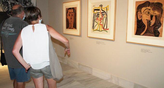 Benicàssim prorroga l'estada de Picasso en Villa Elisa després de sumar 3.700 visitants