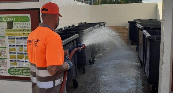 Benicàssim demana col·laboració a hostalers i comerciants per a mantindre neta la via pública