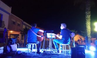 """L'Associació Musical Santa Cecília d'Almenara tanca el divendres el cicle """"Música segura a la plaça"""""""