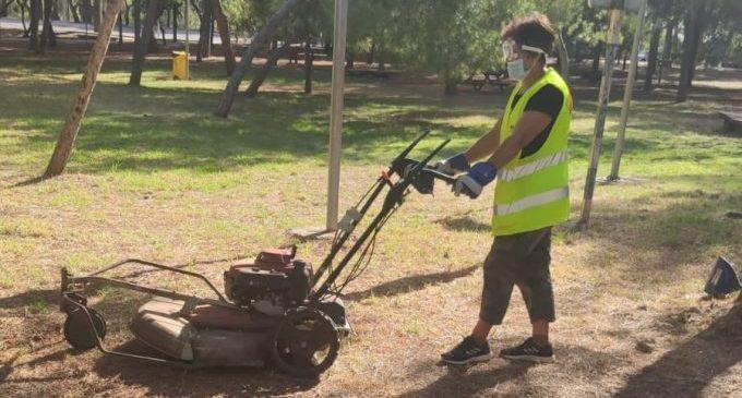 Vila-real refuerza la limpieza del Termet con una brigada permanente de Servicios Públicos en el paraje